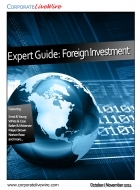 CorporateLiveWire Expert Guide – Foreign Investment